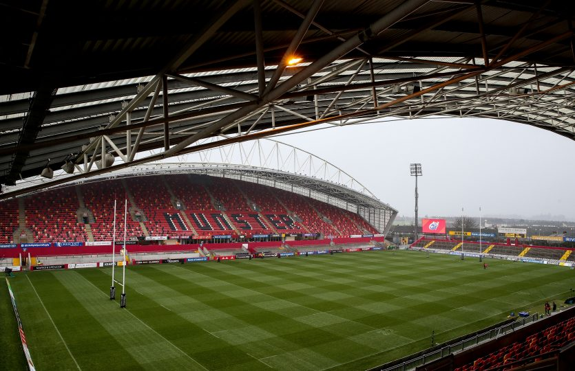 Thomond Park hosts Munster v Zebre in the Guinness PRO14 this Saturday night.