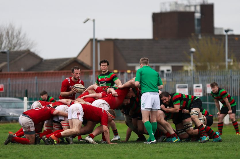 Highfield RFC secured promotion to Division 1B with victory over Cashel.