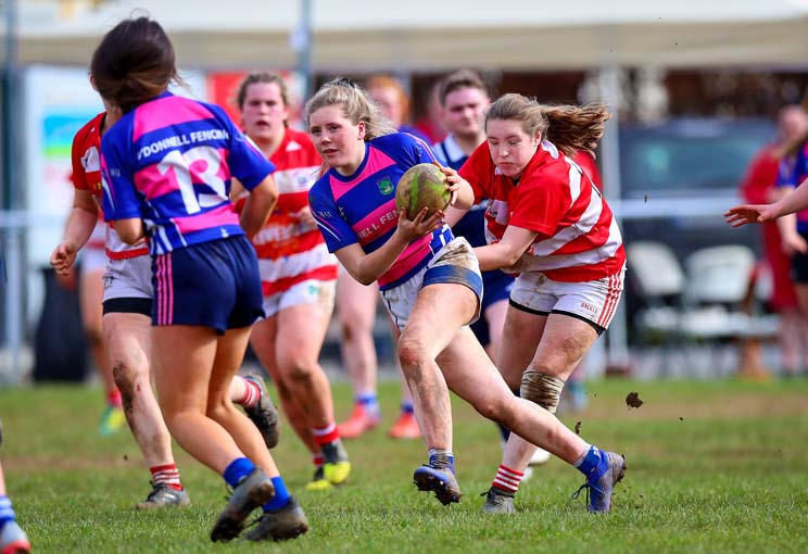 Fethard & District Girls in action.
