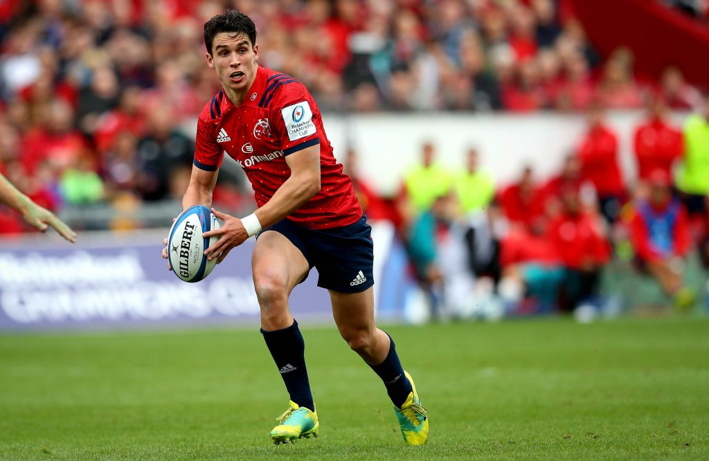 Joey Carbery has signed a contract extension at Munster.