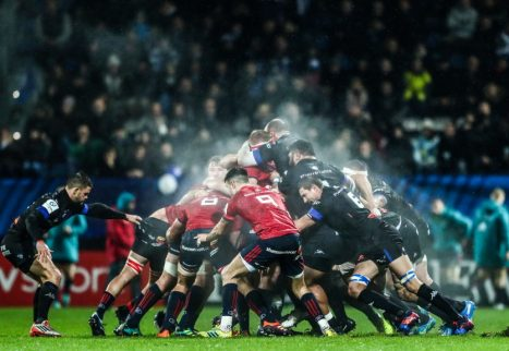 Scrum action from Munster