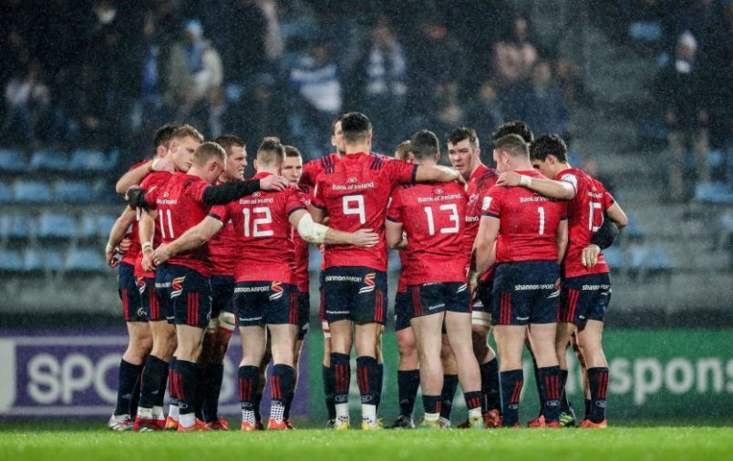 The Munster team will face Saracens at the Ricoh Arena.