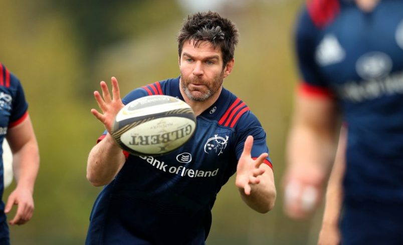 Billy Holland captains Munster in Italy.