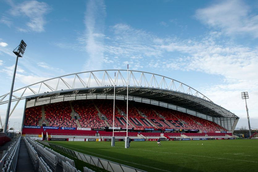 Munster will play two more games at Thomond Park this season.