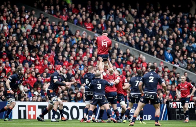 Munster supporters will be travelling in their thousands to the Ricoh Arena.