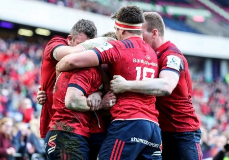 Saracens v Munster kicks-off at 3pm on Saturday.