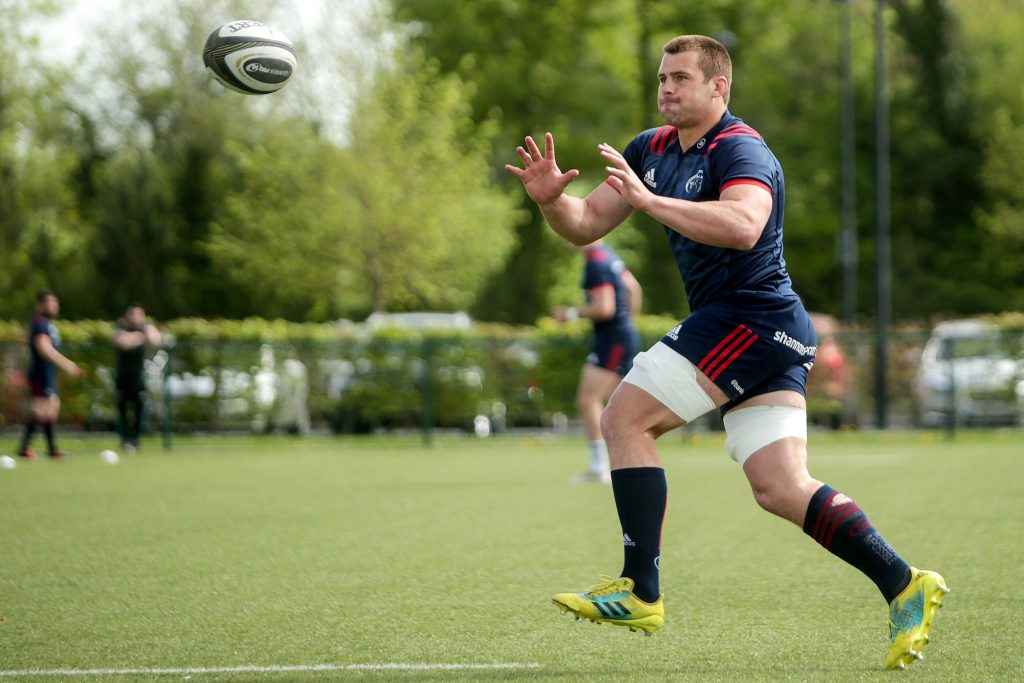 CJ Stander at training on Tuesday.