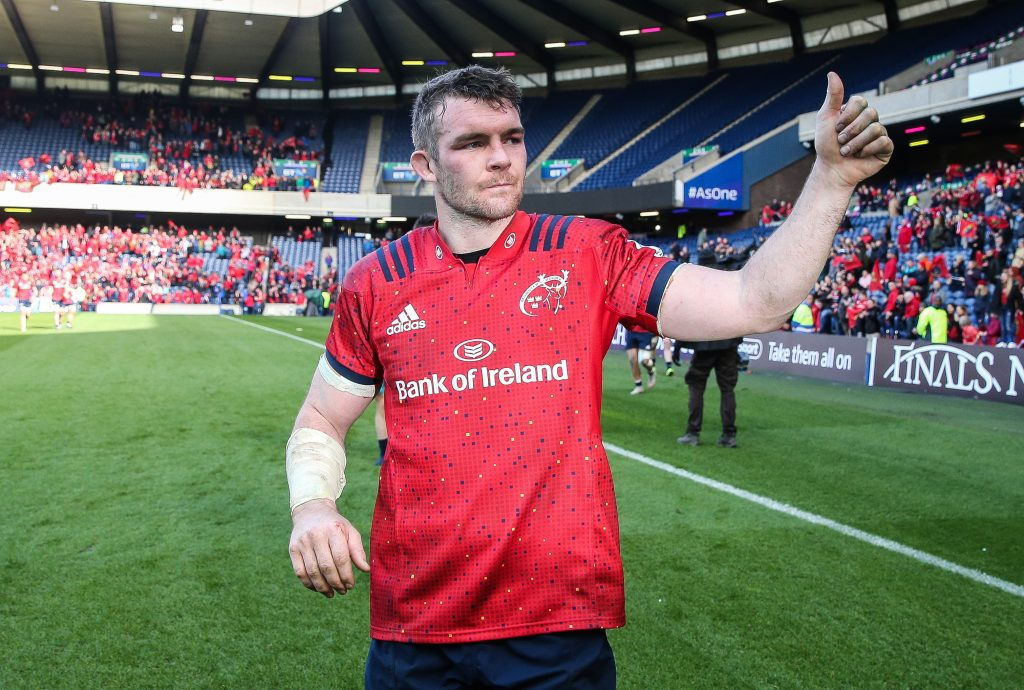Peter O'Mahony is named the 2019 Munster Player of the Year
