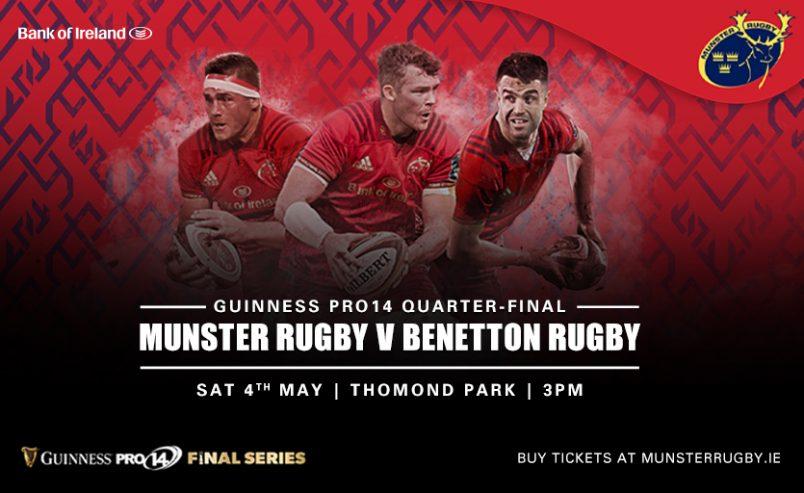 Ticket Update | Guinness PRO14 Quarter-Final