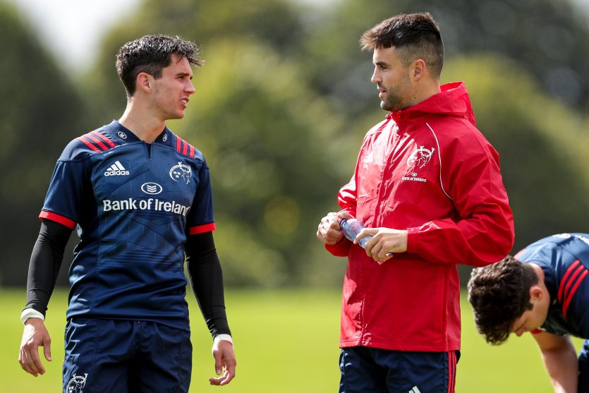 Joey Carbery will return to team training this week and Conor Murray will train today.