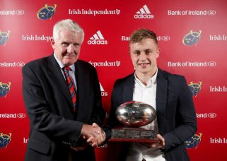Academy Player of the Year Craig Casey made his Guinness PRO14 debut last week.
