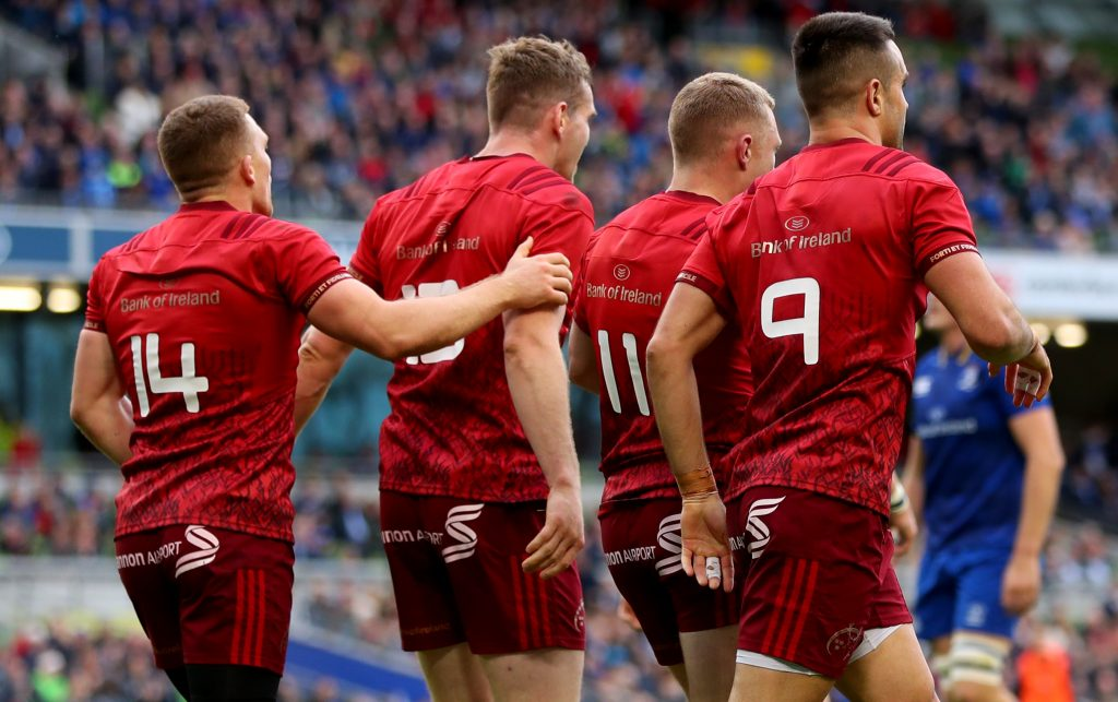 Munster face Leinster on Saturday, May 18.