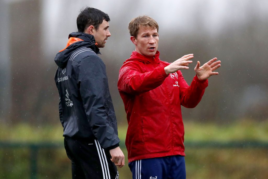 Felix Jones and Jerry Flannery will depart Munster at the end of the season.