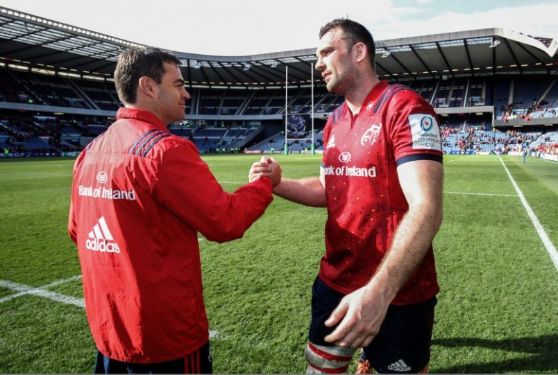 Tadhg Beirne signs up to Munster Rugby until 2022