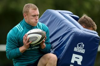 Keith Earls returns to full training this week and will be monitored as the week progresses.