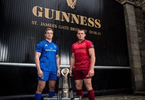Josh van der Flier and CJ Stander ahead of Saturday