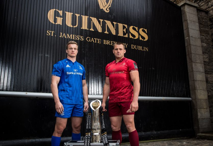 Josh van der Flier and CJ Stander ahead of Saturday's Guinness PRO14 semi-final.
