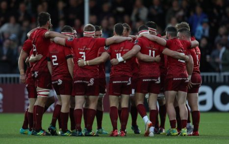 Munster face Leinster in Dublin on Saturday.