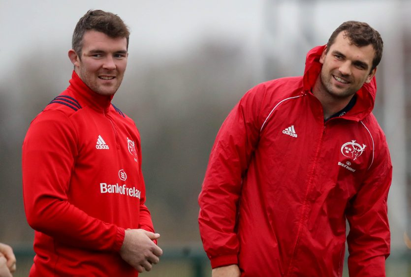 Peter O'Mahony and Tadhg Beirne are named in the Guinness PRO14 Dream Team.