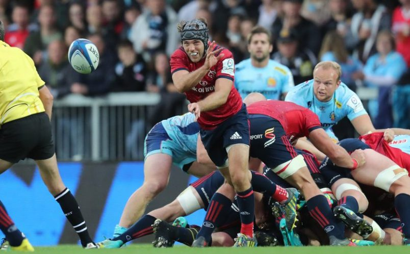 Duncan Williams in action against Exeter Chiefs.