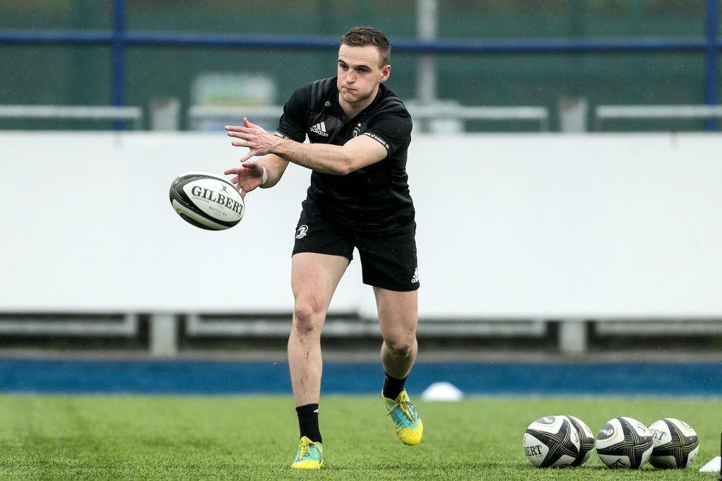 Nick McCarthy at Leinster training in April.