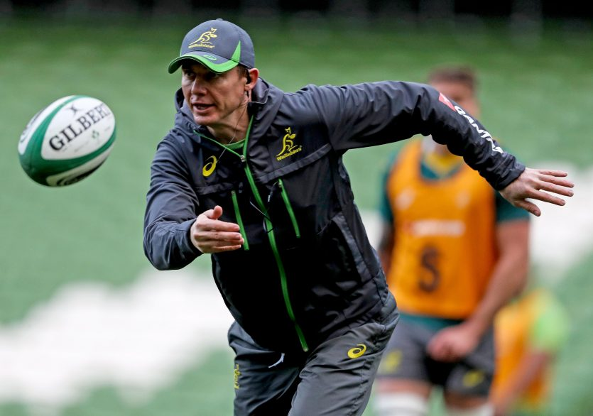 Stephen Larkham joins Munster from Rugby Australia.