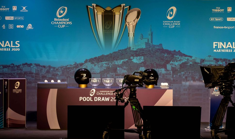 A view of the stage ahead of today's draw.