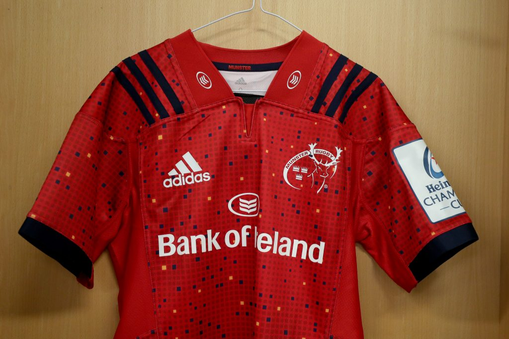 Munster's adidas Champions Cup jersey is one of many items available exclusively at Life Style Sports.