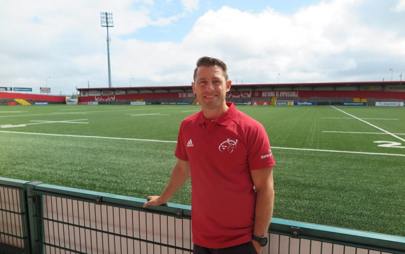 Mike Pettman at Irish Independent Park.