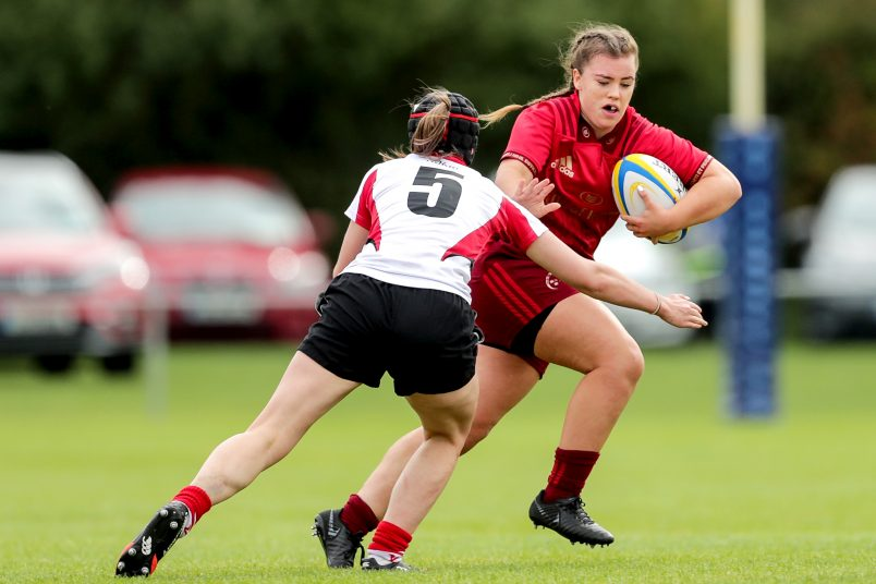 Munster U18 Girls take on Ulster before the Munster Women in the Interpro opener at Irish Independent Park.