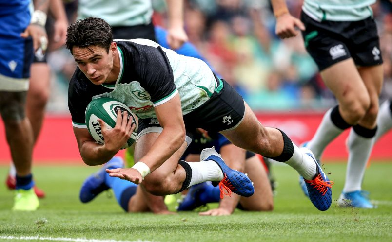 Joey Carbery will return to action in four to six weeks.