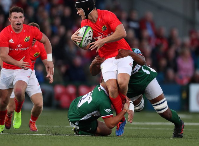 TV and Internet viewing times for Munster v Dragons – USA