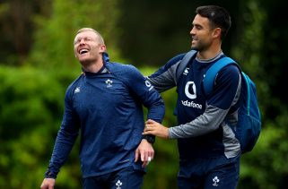 Keith Earls and Conor Murray start for Ireland on Saturday.