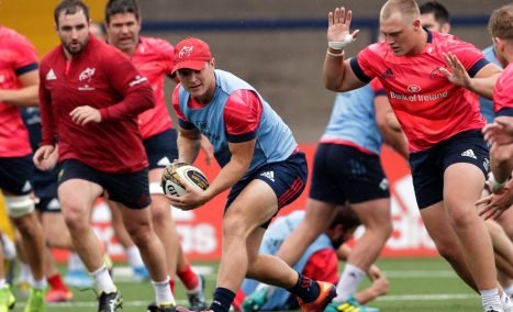 Tyler Bleyendaal will captain Munster in their pre-season game against London Irish in Irish Independent Park.