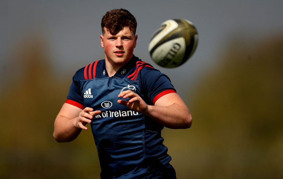 Josh Wycherley captains Munster A in the Celtic Cup on Saturday.