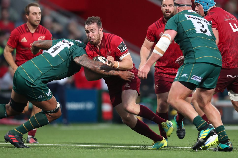JJ Hanrahan in action against London Irish last season.