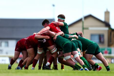 Munster A up against Connacht Eagles in the Celtic Cup.