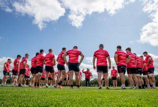 Th Munster squad have been in pre-season training since July 1.