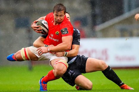 Arno Botha in action against the Dragons on Saturday.
