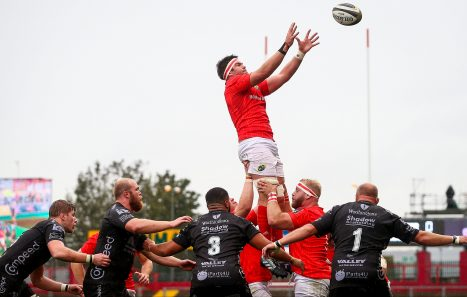 Billy Holland captains Munster against Cheetahs on Friday.