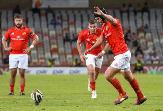 Tyler Bleyendaal kicked three penalties for Munster.