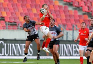 Darren Sweetnam was one of 28 Munster players who featured in South Africa over the last two weekends.