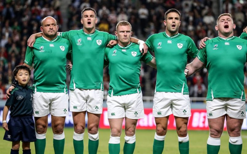 Ireland Team To face All Blacks In World Cup Quarter-Final