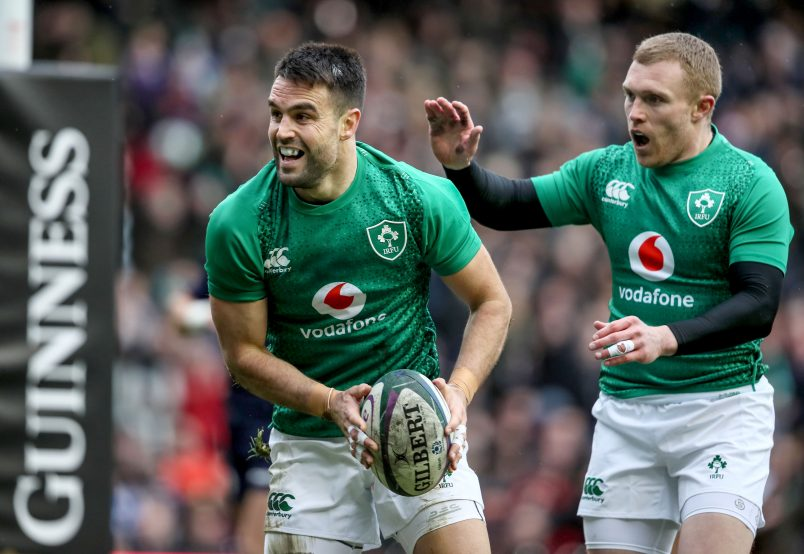 Conor Murray and Keith Earls start for Ireland on Saturday.