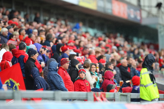 Match Day Information – Munster V Ulster