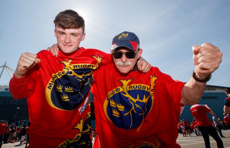 Munster fans will be making their way to Swansea for Saturday