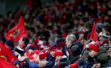 Munster fans will be out in force over the next three weekends.