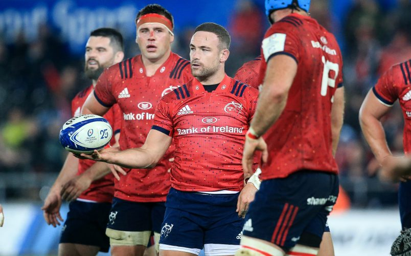 Alby Mathewson made a huge impact during his 15 months at Munster.