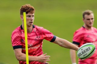 Ben Healy will become the fifth current Greencore Munster Rugby Academy player to play in the Guinness PRO14 this season.