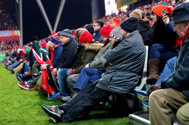 Additional seating has been installed at Thomond Park for Saturday